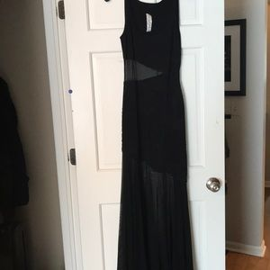 Gorgeous black beaded gown